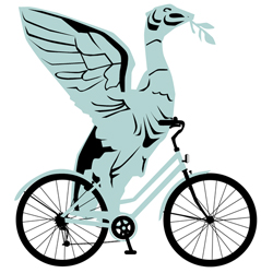 Liver bird bicycle